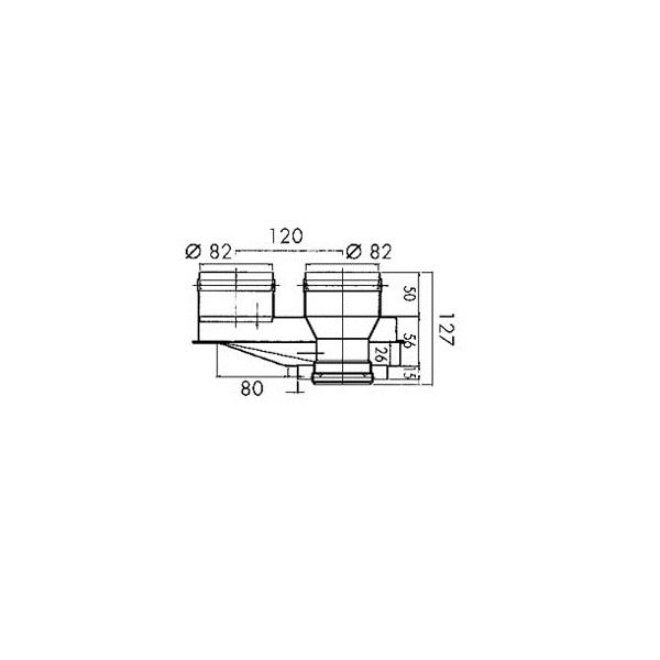 SYLBER - kit sdoppiatore aria/fumi