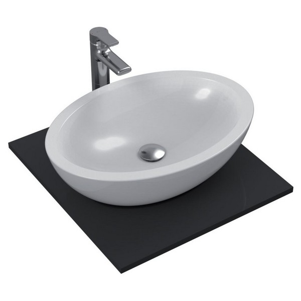IDEAL STANDARD - lavabo strada 60X42 ovale appoggio