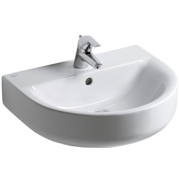 IDEAL STANDARD - lavabo connect in ceramica bianca