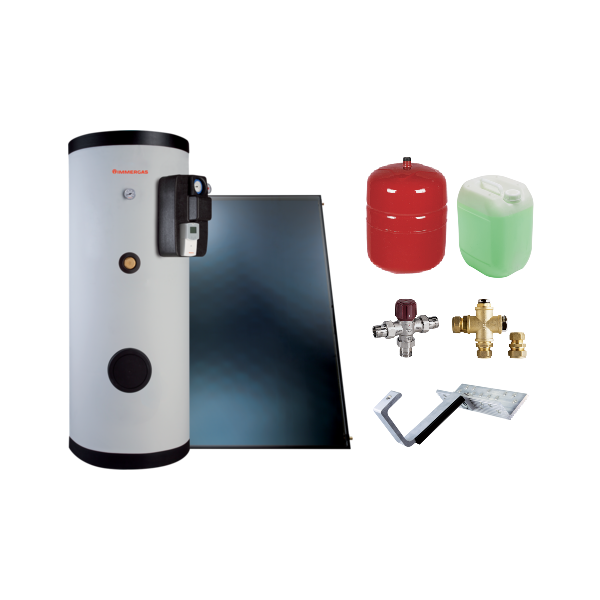 IMMERGAS S.P.A. - kit solare inox SOL 300 TOP ERP
