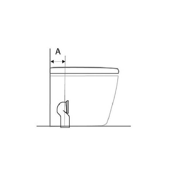 IDEAL STANDARD - curva tecnica da 5 a 11 cm