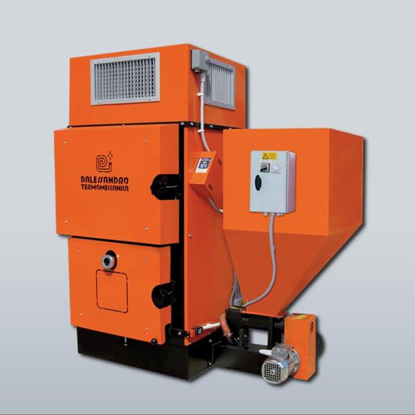 D'ALESSANDRO - generatore aria calda GS 80 KW