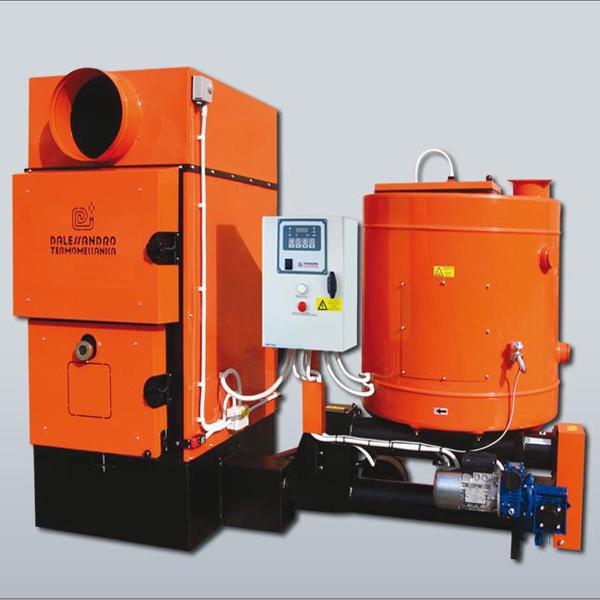 D'ALESSANDRO - generatore aria calda GSA 80KW