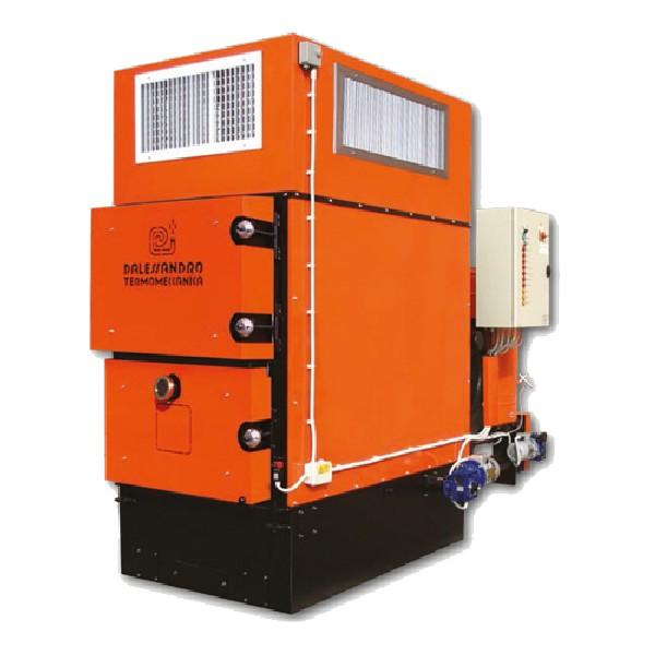 D'ALESSANDRO - generatore aria calda GSA 130KW
