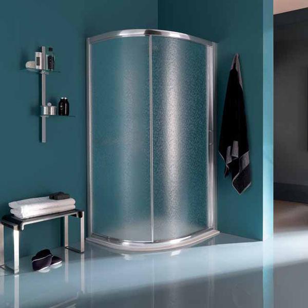 SAMO - box doccia tondo scorrevole america