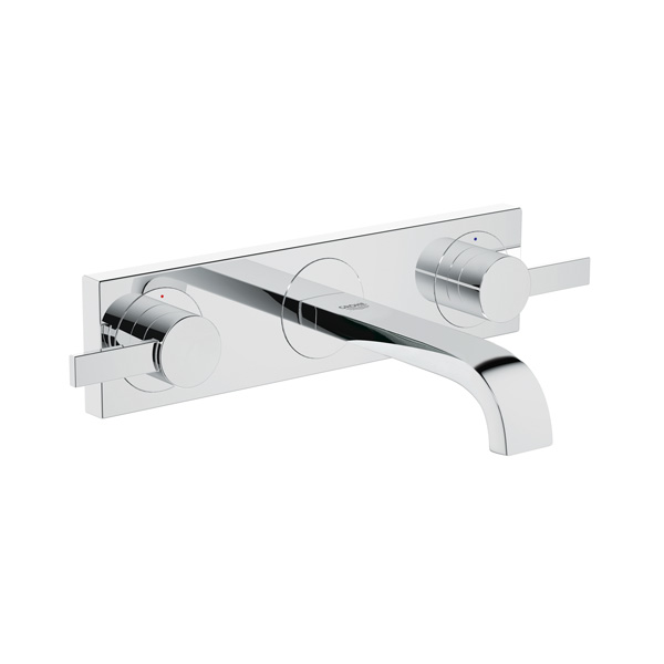 GROHE - BATTERY 3-HOLE LAV ALLURE.WALL