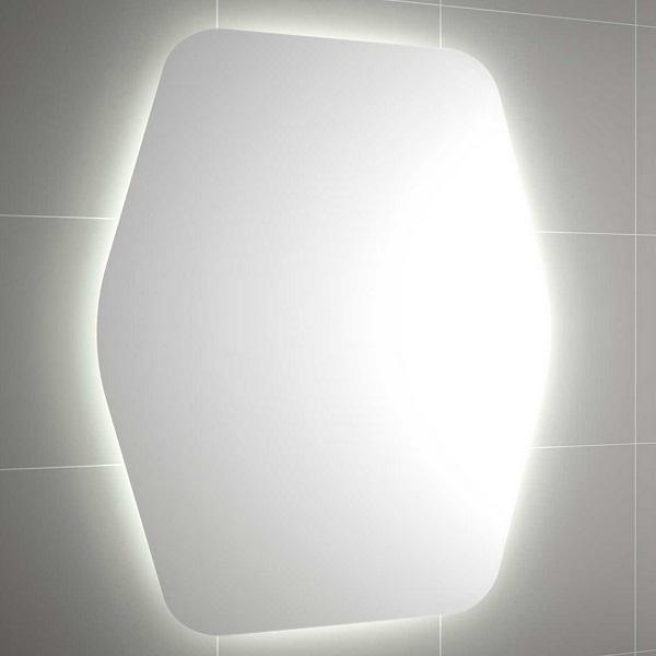 CONFORTABLE - specchio organic 800 a luce led