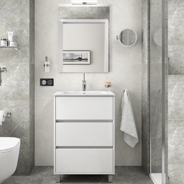 CONFORTABLE - mobile bagno arneys 600 3 cassetti